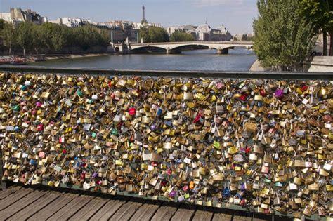 images of love lock bridge paris bridge collapses from weight of love locks the cut