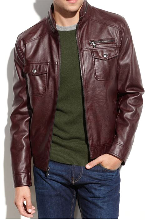 Handmade Leather Clothing - handmade new biker leather jacket mens motrcycle