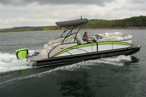 hurricane deck boat vs pontoon sylvan s5 extreme pontoon deck boat magazine