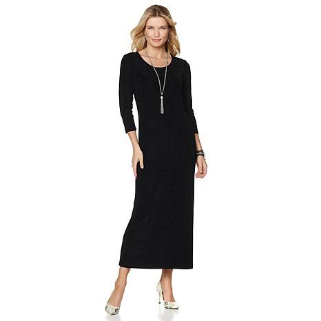 Get The Scoop And To The Home Shopping Network by Original Slinky 174 Brand Scoop Neck Maxi Dress 8185126 Hsn