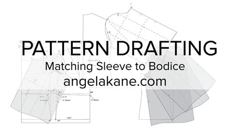 pattern drafting learn sewing patterns flat pattern drafting matching the