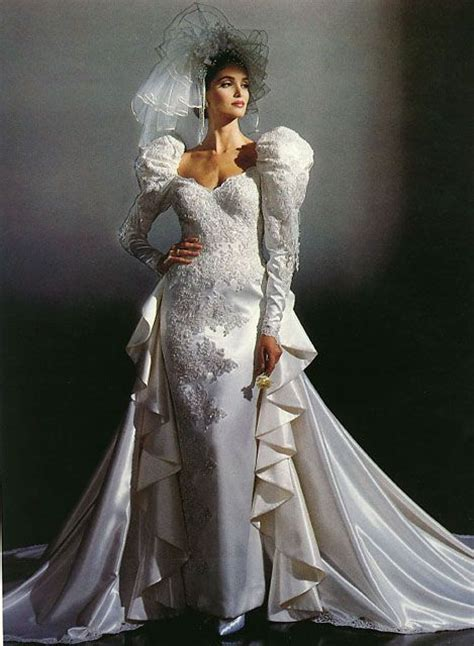Brautkleider 80er by 343 Best Images About 1980 S Wedding Dress On