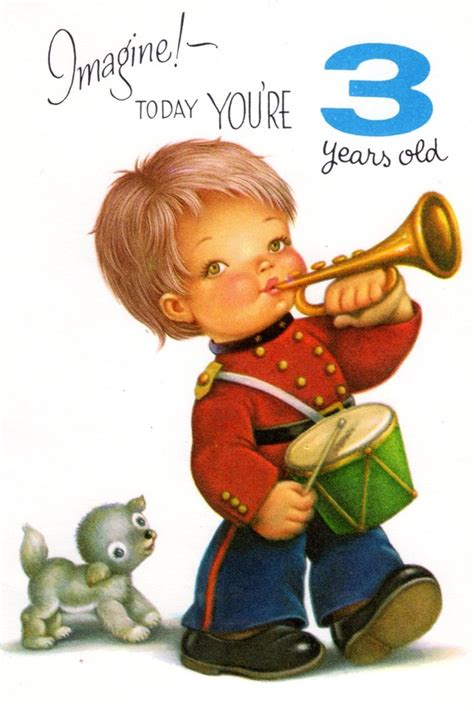 Birthday Quotes For A 3 Year Boy Items Similar To Chubby Cheek Boy Birthday Card For Three