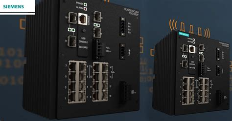Rugged Plc by Siemens Rugged Communication Right Communication Device