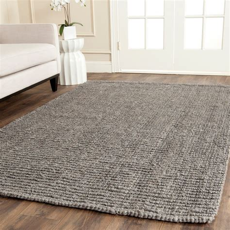 Ikea Wool Rugs by Safavieh Hand Woven Natural Fiber Light Grey Jute Rug 6