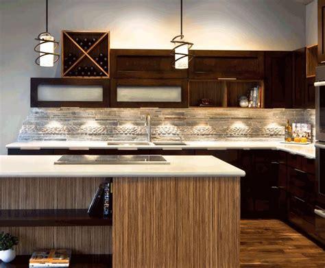 Modern Kitchens Pictures great solution for ending the side of a backsplash
