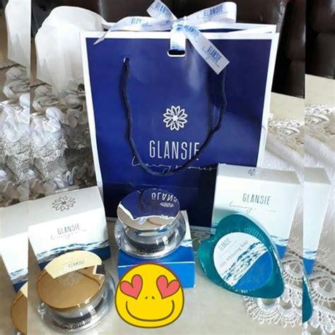 Siang Glansie Luxury jual glansie luxury anti acne perawatan wajah