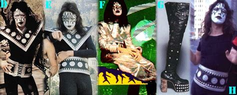 Tshirt Stanly Comet years of ace frehley costume late 1973 when the