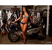 Wallpaper Motorcyle &amp Girl Galleries  Franchesca With The S1000RR