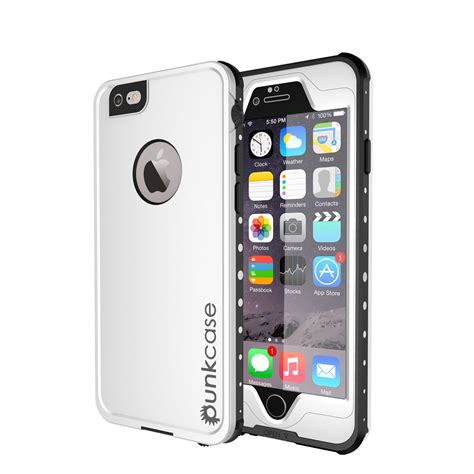 punkcase studstar black apple iphone   waterproof case