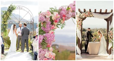 Wedding Arch Canopy by 15 Wonderful Wedding Canopy Arch Ideas
