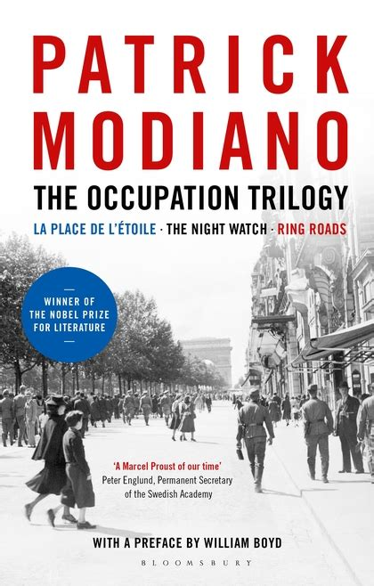 libro the occupation trilogy la the occupation trilogy la place de l 201 toile the night watch ring roads patrick modiano