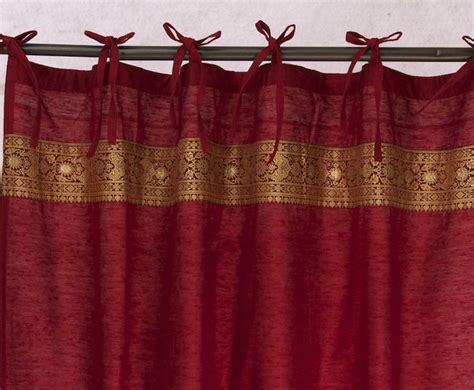 indian curtain art silk curtains