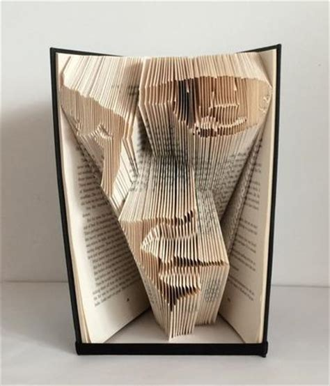 Book Paper Folding - book folding pattern of elvis cup613833 2229 craftsuprint