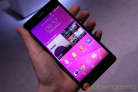 Custom Sony Xperia Z2 Motif Speaker 01 sony xperia z2 cyanogenmod nightly build released ubergizmo