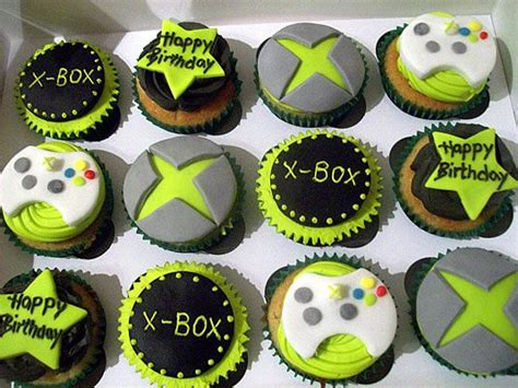 xbox cupcakes parties pinterest kid cupcake  bubble shooter