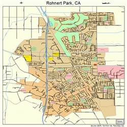 rohnert park california map 0662546