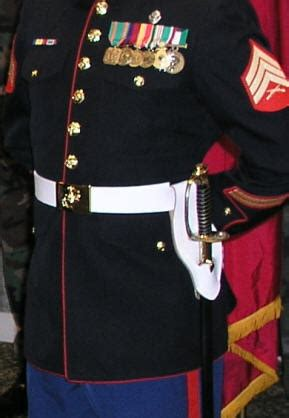 authentic marine corps nco swords marine corps dress belts