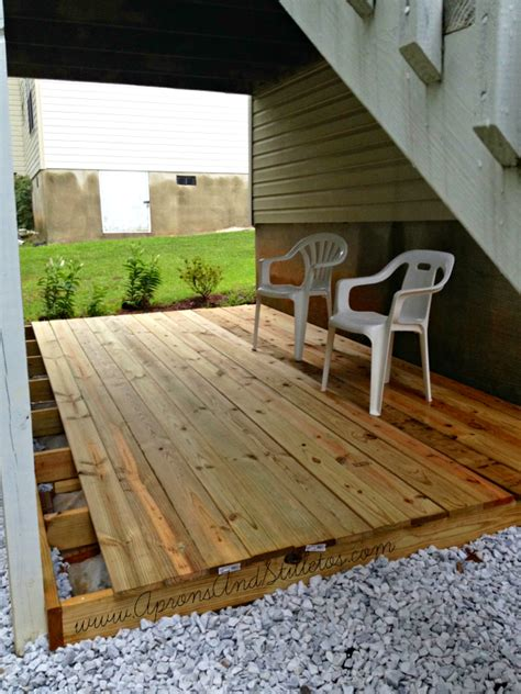 building a ground level deck building an outdoor deck 2017 2018 best cars reviews