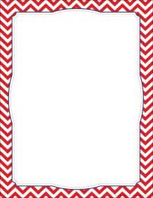 chevron border template 6 best images of free printable chevron border template