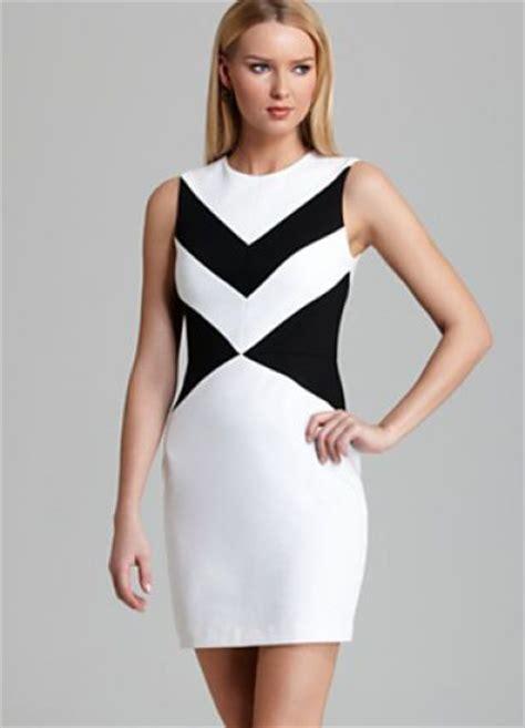 black and white geometric pattern dress white black sleeveless geometric pattern bodycon dress