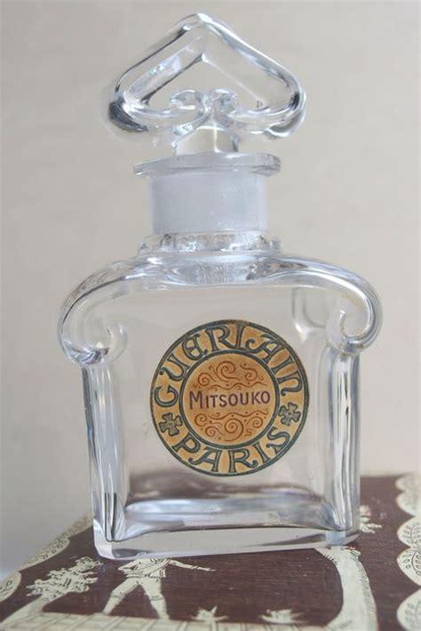 Parfum Baccarat flacon de parfum guerlain quot mitsouko quot en cristal de baccarat vers 1925 catawiki