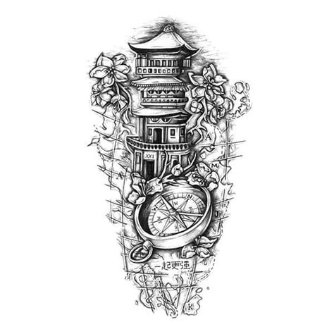 path tattoo designs the path of sleeve design tatu
