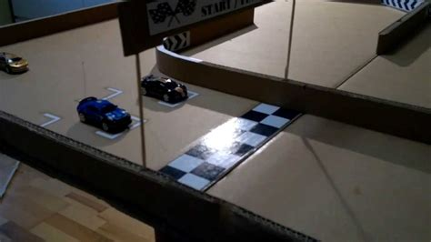 how to build a rc track in my backyard micro car rc racing home made track from corrogated