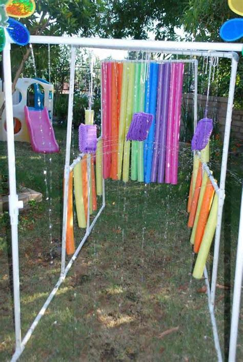 backyard water fun top 21 the best diy pool noodle home projects and