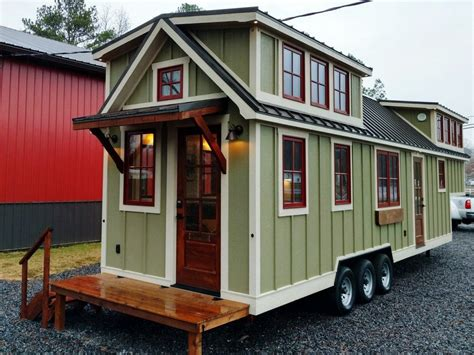 luxury tiny house spacious farmhouse style luxury tiny home idesignarch