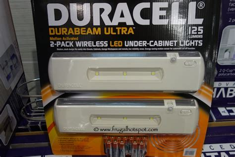 duracell led under cabinet light costco sale duracell durabeam ultra 2 pack wireless led