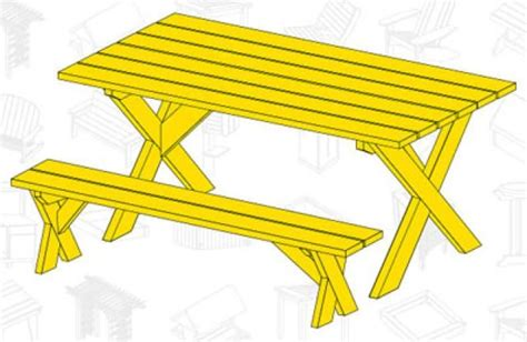 free picnic table plans with separate benches picnic table plans free separate benches woodworking