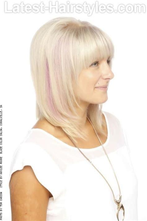 medium length hair face framing from drab to fab medium hairstyles for fine hair cute