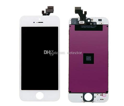 Lcd Cina C5 Tft022h011 2017 lcd for iphone4 4s 5 5c 5sfree fedex ems dhl ship with touch screen set assembly white