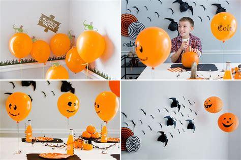 decorar globos para halloween 8 ideas diy para decorar halloween con globos fiestas y