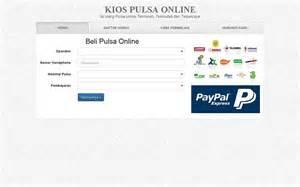 membuat web jualan gratis inilah script jualan pulsa online gratis sok2an blog