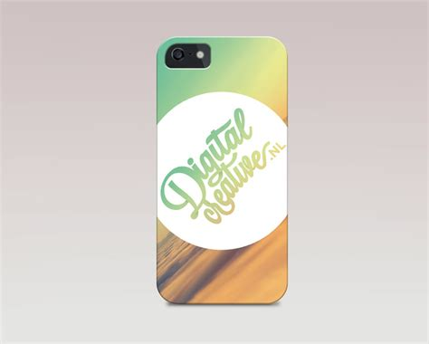 Casing Handphone Iphone 5 5s View Clear Uv Mirror Flip Cover iphone 5s cover mockup free psd file