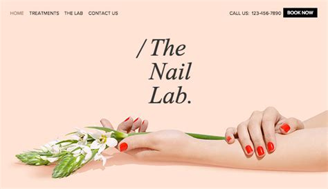 Cosmetic Arts Nail Website