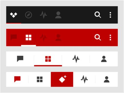 design tab meaning tabs for mobile ux design ux planet