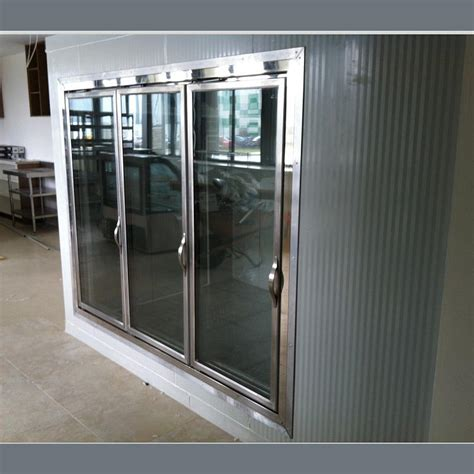 Glass Door Cold Storage Cold Room Walk In Cooler Walk In Cooler Glass Doors