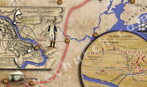 washington s washington s crossing map mike church s tradin post