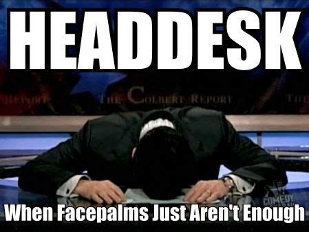 Head Desk Meme - why google disavow is bad news for seo