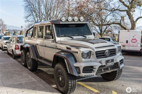 mansory mercedes g63 mercedes benz mansory gronos g 63 amg 6x6 19 february