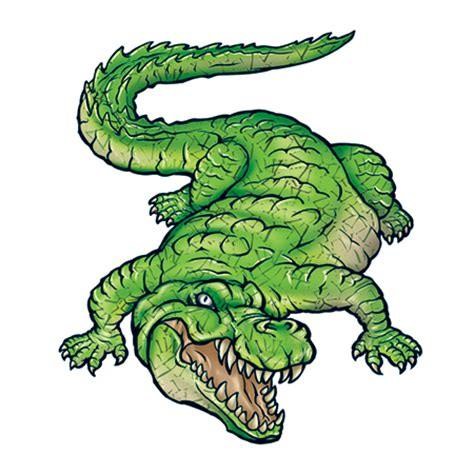 Krokodil Also Search For Green Crocodile Tattooforaweek Temporary Tattoos Largest Temporary Shop