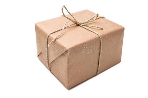 Parcel Paket Parcel U brown paper parcel stock photo image of decoration