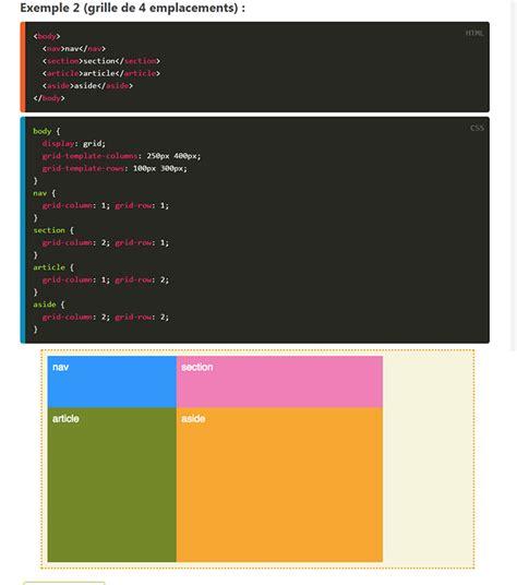design studio grid layout css css grid layout une grille r 233 volutionnaire pour les