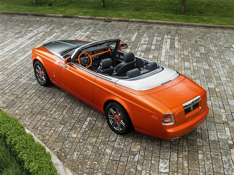 roll royce orange rolls royce phantom drophead coup 233 beverly hills edition