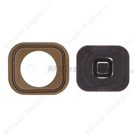 apple iphone 5 home button with rubber gasket etrade supply