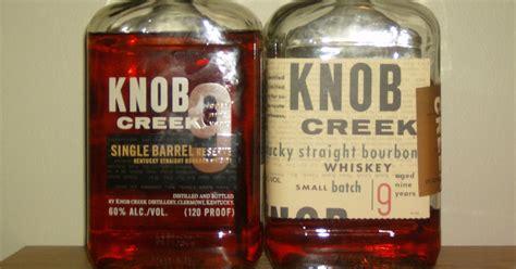 Knob Creek Bourbon Distillery Tour by Bourbon Dork O Dram Knob Creek Single Barrel Reserve