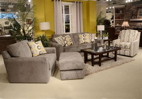 chair and a half and ottoman chair and a half and ottoman with casual style by jackson